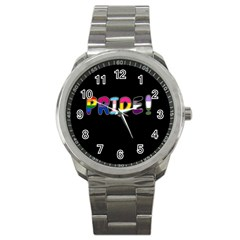 Pride Sport Metal Watch by Valentinaart