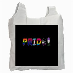 Pride Recycle Bag (one Side) by Valentinaart