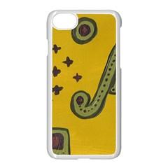 Indian Violin Apple Iphone 7 Seamless Case (white) by snowwhitegirl