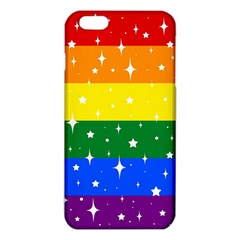 Sparkly Rainbow Flag Iphone 6 Plus/6s Plus Tpu Case by Valentinaart