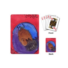Creepy Castle Playing Cards (mini)  by snowwhitegirl
