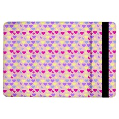 Hearts Butterflies Pink  Ipad Air Flip by snowwhitegirl