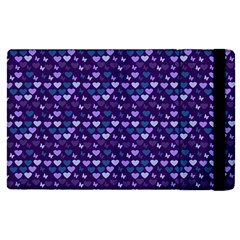 Hearts Butterflies Blue Apple Ipad Pro 12 9   Flip Case by snowwhitegirl