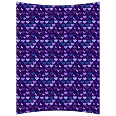 Hearts Butterflies Blue Back Support Cushion by snowwhitegirl