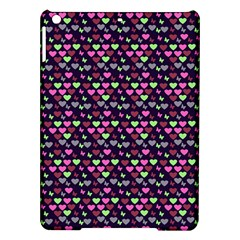 Hearts Butterflies Blue Pink Ipad Air Hardshell Cases by snowwhitegirl