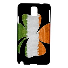 Irish Clover Samsung Galaxy Note 3 N9005 Hardshell Case by Valentinaart