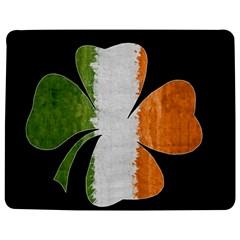 Irish Clover Jigsaw Puzzle Photo Stand (rectangular) by Valentinaart