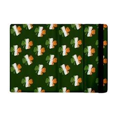 Irish Clover Apple Ipad Mini Flip Case by Valentinaart