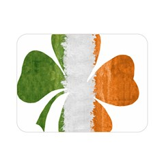 Irish Clover Double Sided Flano Blanket (mini)  by Valentinaart