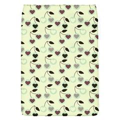 Heart Cherries Mint Flap Covers (s)  by snowwhitegirl