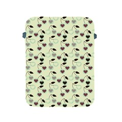 Heart Cherries Mint Apple Ipad 2/3/4 Protective Soft Cases by snowwhitegirl