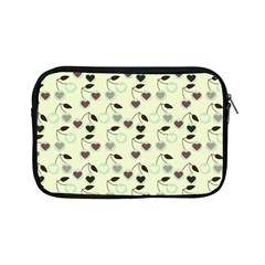 Heart Cherries Mint Apple Ipad Mini Zipper Cases by snowwhitegirl