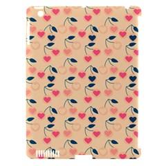 Heart Cherries Cream Apple Ipad 3/4 Hardshell Case (compatible With Smart Cover) by snowwhitegirl