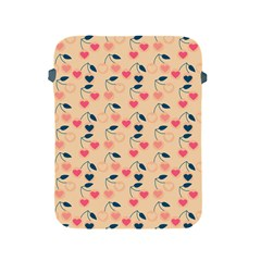 Heart Cherries Cream Apple Ipad 2/3/4 Protective Soft Cases by snowwhitegirl