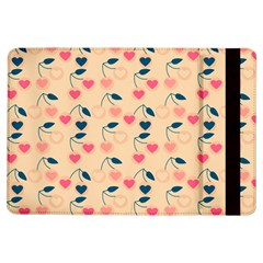Heart Cherries Cream Ipad Air Flip by snowwhitegirl