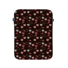 Heart Cherries Brown Apple Ipad 2/3/4 Protective Soft Cases by snowwhitegirl