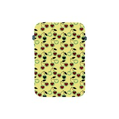 Yellow Heart Cherries Apple Ipad Mini Protective Soft Cases by snowwhitegirl