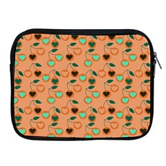 Peach Cherries Apple Ipad 2/3/4 Zipper Cases by snowwhitegirl