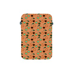Peach Cherries Apple Ipad Mini Protective Soft Cases by snowwhitegirl