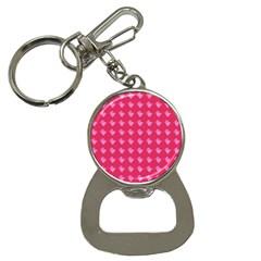 Punk Heart Pink Button Necklaces by snowwhitegirl