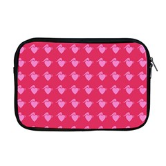 Punk Heart Pink Apple Macbook Pro 17  Zipper Case by snowwhitegirl