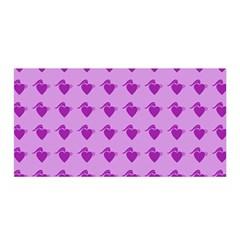 Punk Heart Violet Satin Wrap by snowwhitegirl