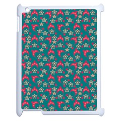 Teal Hats Apple Ipad 2 Case (white) by snowwhitegirl