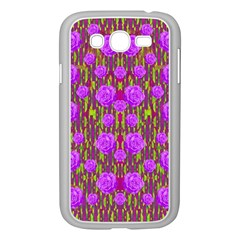 Roses Dancing On A Tulip Field Of Festive Colors Samsung Galaxy Grand Duos I9082 Case (white) by pepitasart