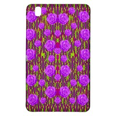 Roses Dancing On A Tulip Field Of Festive Colors Samsung Galaxy Tab Pro 8 4 Hardshell Case by pepitasart