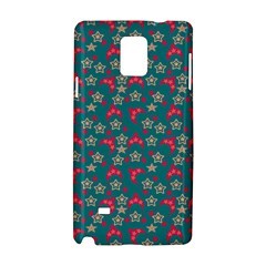 Teal Hats Samsung Galaxy Note 4 Hardshell Case by snowwhitegirl