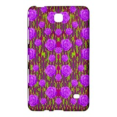 Roses Dancing On A Tulip Field Of Festive Colors Samsung Galaxy Tab 4 (7 ) Hardshell Case  by pepitasart