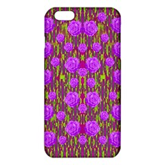 Roses Dancing On A Tulip Field Of Festive Colors Iphone 6 Plus/6s Plus Tpu Case by pepitasart
