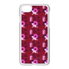 Punk Baby Red Apple Iphone 7 Seamless Case (white) by snowwhitegirl