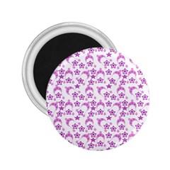 Violet Winter Hats 2 25  Magnets by snowwhitegirl