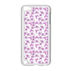 Violet Winter Hats Apple Ipod Touch 5 Case (white) by snowwhitegirl