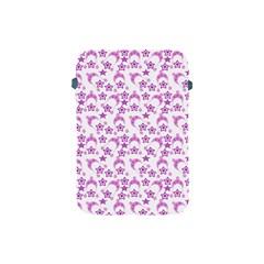 Violet Winter Hats Apple Ipad Mini Protective Soft Cases by snowwhitegirl