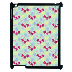 Birthday Cherries Apple Ipad 2 Case (black) by snowwhitegirl