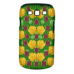 Roses Dancing On  Tulip Fields Forever Samsung Galaxy S Iii Classic Hardshell Case (pc+silicone) by pepitasart