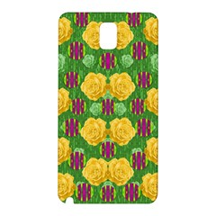 Roses Dancing On  Tulip Fields Forever Samsung Galaxy Note 3 N9005 Hardshell Back Case by pepitasart