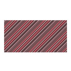 Brownish Diagonal Lines Satin Wrap by snowwhitegirl