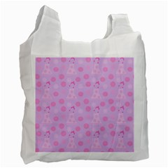 Lilac Dress Recycle Bag (one Side) by snowwhitegirl