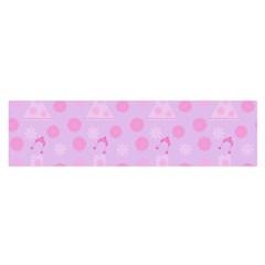 Lilac Dress Satin Scarf (oblong) by snowwhitegirl