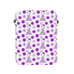 Lilac Dress On White Apple Ipad 2/3/4 Protective Soft Cases by snowwhitegirl