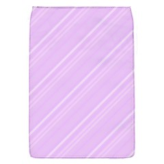 Lilac Diagonal Lines Flap Covers (s)  by snowwhitegirl