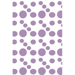 Violet Dots 5 5  X 8 5  Notebooks by snowwhitegirl