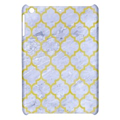 Tile1 White Marble & Yellow Watercolor (r) Apple Ipad Mini Hardshell Case by trendistuff