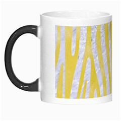 Skin4 White Marble & Yellow Watercolor Morph Mugs by trendistuff