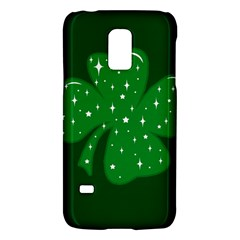 Sparkly Clover Galaxy S5 Mini by Valentinaart