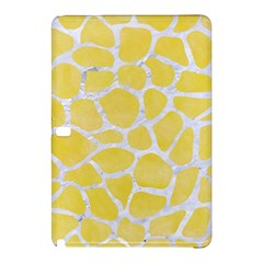 Skin1 White Marble & Yellow Watercolor (r) Samsung Galaxy Tab Pro 12 2 Hardshell Case by trendistuff