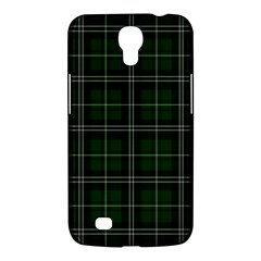 Green Plaid Pattern Samsung Galaxy Mega 6 3  I9200 Hardshell Case by Valentinaart